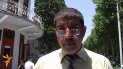 Падари зиндонии хабарсоз тақозои митинг кард