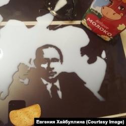 Путин из молока