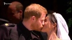 Принц Гарри и актриса Меган Маркл поженились (видео)
