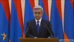 Սերժ Սարգսյանը նախագահի թեկնածու առաջադրվեց