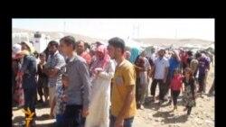 أربيل: نازحون من كرد سوريا