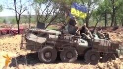 La Artemivsk, lucrările la linia de apărare decurg greu