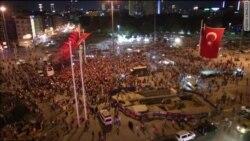 Акции в поддержку Эрдогана