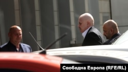 """Слави Трифонов преди учредяването на партията му """"Няма такава държава"""" на 5 октомври в София"""