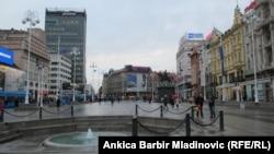 Zagreb, Trg bana Jelačića, arhiv