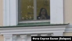 Ганна Калтыгіна, адна з рэдактарак Tut.by, у Сьледчым камітэце