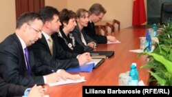 Catherine Ashton la Chișinău în 2011