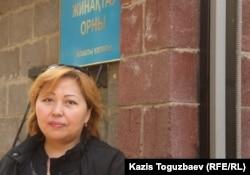 Мать призывника Жанна Бекбосынова. Алматы, 12 октября 2011 года.