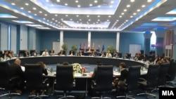 Министерски состанок во Охрид.
