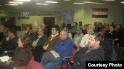 إحدى لقاءات الجالية العراقية في أوتاوا بكندا