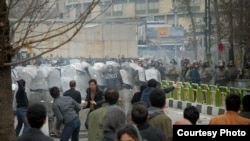 The Iranian authorities are intent on stopping the opposition from taking to the streets as they did for Ashura in December.