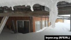 Ай-Петрі, снігові замети, 24 січня 2017 року