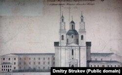 Езуіцкі калегіюм у Полацку, аддадзены пад кадэцкі корпус, 1864—1867