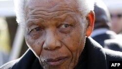 Ish-presidenti i Afrikës së Jugut, Nelson Mandela.