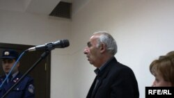Левон Авакян в зале суда