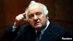 Грузиянын президенти Эдуард Шеварнадзе, Тбилиси, 10.02.1998