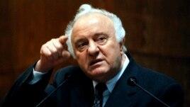Грузияның бұрынғы президенті Эдуард Шеварднадзе.