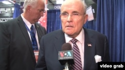 Former New York Mayor Rudolph Giuliani was a vocal advocate for U.S. President-elect Donald Trump during the campaign against Hillary Clinton.