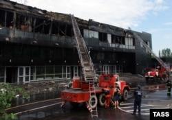 У 2014-му спалили хокейну арену у Донецьку
