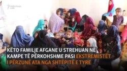 Civilët afganë ikin nga frika e sulmeve nga talibanët