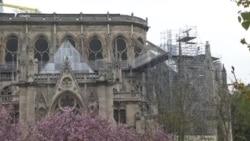 Catedrala Notre Dame, a doua zi după incendiu