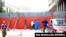 بوابات وسط القاهرة بلا عن الحواجز الكونكريتية