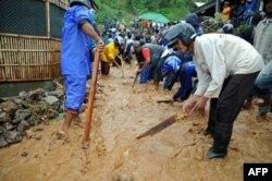 آرشیف، سیلابها در اندونیزیا