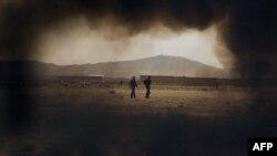Уничтожение опиумных плантаций в Афганистане. Фото из архива.