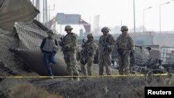 Kabul- Trupat amerikane të cilat marrin pjesë në misionin e NATO-së në Afganistan-ISAF (Ilustrim)