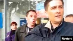 Володимир Рибак (праворуч), архівне фото