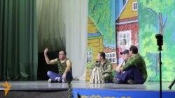Татар җырчылары казаннарга бушлай музыкаль комедия күрсәтте