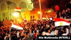 محيط القصر الر ئاسي المصري. القاهرة 4كانون 2012