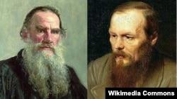 Tolsoy və Dostoyevski
