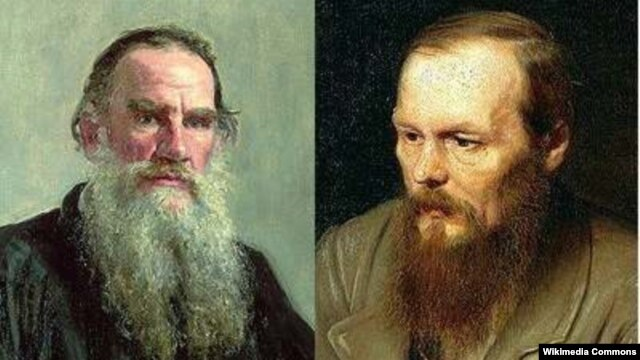 What places should Tolstoy (left) and Dostoyevsky occupy on such a list?
