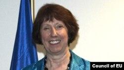Кэтрин Эштон, верховный представитель Евросоюза по внешней политике и политике безопасности.