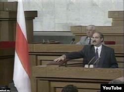Лукашэнка на інаўгурацыі ў 1994 годзе