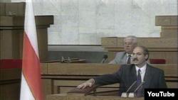 Лукашэнка прымае прысягу ў 1994 годзе