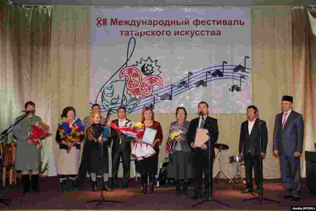 Милли оешмалар вәкилләре Татар сәнгать мәктәбен котлыйлар