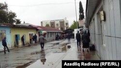 Astara. Azərbaycan-İran sərhəd keçid məntəqəsi