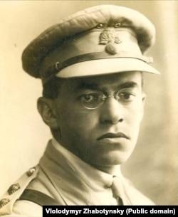 Володимир (Зеєв) Жаботинський (1880–1940) – єврейський політичний і військовий діяч, письменник і публіцист, уродженець Одеси