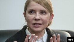 """Лидер партии """"Батькивщина"""" и кандидат в президенты Украины Юлия Тимошенко. Донецк, 7 апреля 2014 года."""