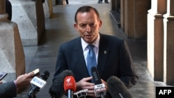 Kryeministri i Australisë Tony Abbott.