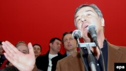 Milo Đukanović nakon pobjede na izborima