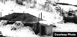 """""""Утепленные палатки"""", в которых жили заключенные Понышского ИТЛ"""
