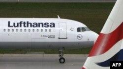 Самолет немецкой авиакомпании «Люфганза».