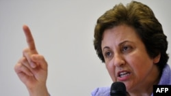 Human rights lawyer Shirin Ebadi