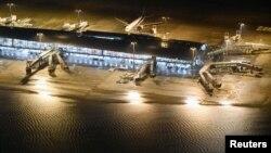 Затоплена злітна смуга аеропорту Кансай, 4 вересня 2018 року