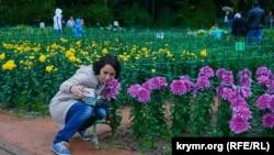 Архивное фото: Никитский ботанический сад, «Бал хризантем», октябрь 2015 года