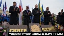 Представники місцевої влади на святкуванні Дня Республіки у Сімферополі