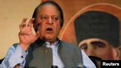 Новиот пакистанскиот премиер Наваз Шариф.